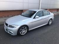 2009 59 BMW 3 SERIES 2.0 318D M SPORT 4D AUTO 141 BHP DIESEL