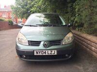 2004 Renault Scenic Expression 1.6 5 Door Hatchback ***EXCELLENT RUNNER***