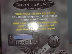 Secretaudio stereo system for sale