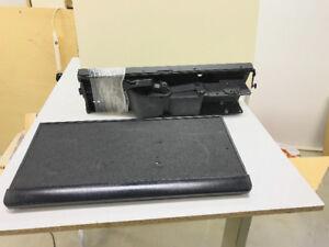 Under desk retractable computer keyboard tray