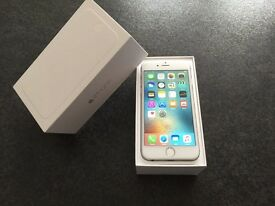With Ownership Proof iPhone 6 16GB Silver Factoy Unlocked / Sim Free to Any Network in the World