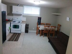 Furnished Basement for Rent in North East Calgary from July 1st