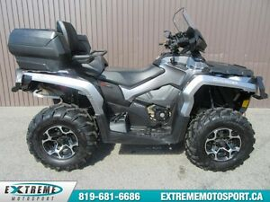 2014 Bombardier CAN-AM Outlander MAX 650 XT 59,51$/SEMAINE