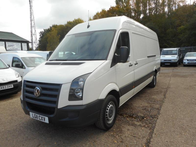 2011 VOLKSWAGEN CRAFTER CR35 BLUE TDI LWB HIGH ROOF PANEL VAN DIESEL