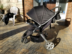 Britax B-Agile Stroller with tray and cup holder Organizer.