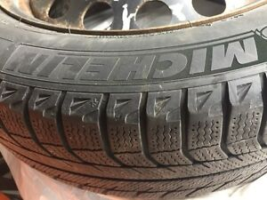 Michelin winter tires with rims  Kawartha Lakes Peterborough Area image 1