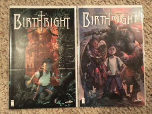 Birthright #1  Cover A and Retailer Variant NM Image Comics
