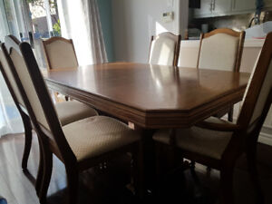 Solid Wood Dining Table Set