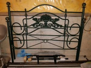 Queen metal bed frame