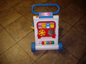 FISHER PRICE FOLDING BABY WALKER