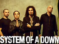 System of a Down - Friday June 19 - Molson Ampitheater 4 tickets