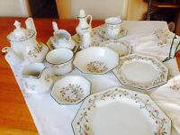 Eternal Bow dinner set 39 pieces