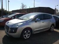 2011 Peugeot 3008 Crossover 1.6HDi Exclusive Automatic Diesel 49K FSH Silver VGC