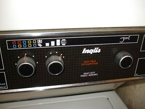 Inglis stackable-apartment size waher/dryer