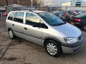 Vauxhall/Opel Zafira 1.6i 16v Club * 2001/51 * ONLY 105K * FEB 18 MOT *