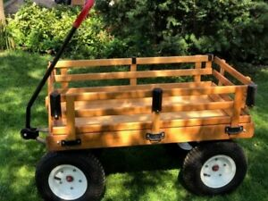 Classic Solid Wooden Wagon
