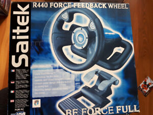 Gaming drivers wheel and pedal system