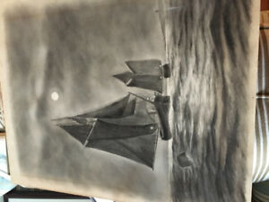 Gorgeous large charcoal