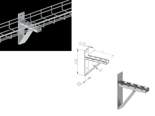 Kable Kontrol Wire Mesh Cable Tray Accessories - UL Certified - NEC Approved
