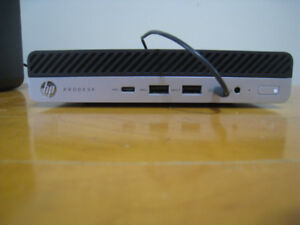 HP Prodesk 600 g3 MINI desktop