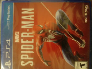 Brand New PS4 Game - Spider Man