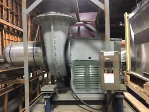 Ventilateur / NYB FRP 400 Rooftop Radial Blower for Lab Hood