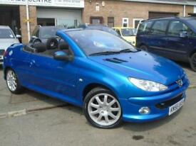 2006 56 PEUGEOT 206 1.6 SPORT COUPE CABRIOLET HDI 2D 108 BHP DIESEL
