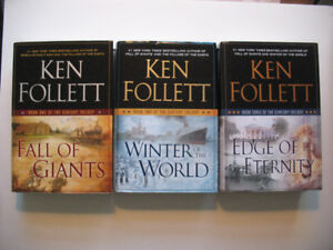 "Ken Follett - Hardcover - ""Century Trilogy"" and more..."