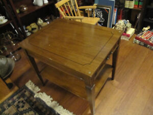 Wood Coffee Table/Side Table $25.00