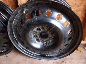 4 New Rims of a Toyota  Camary