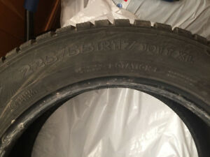 Winter tires - P225/55R17