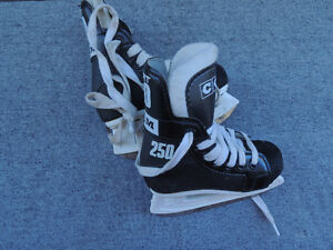 small kids, size 8,  kids hockey skates