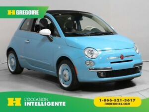 2015 Fiat 500c Lounge CONVERTIBLE CUIR BLUETOOTH MAGS