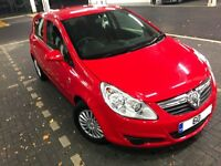 VERY LOW MILEAGE 60 Reg Vauxhall Corsa LOW MILES Red 5 door car cheap to run! Astra and Fiesta