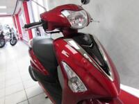 YAMAHA DELIGHT 125cc 99 DEPOSIT 4.9% APR FINANCE. AUTOMATIC RETRO SCOOTER...