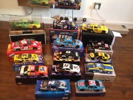 Nascar replica scale model collectable cars