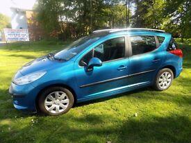 Peugeot 207 SW (08) - Good Condition £800 9 Months MOT