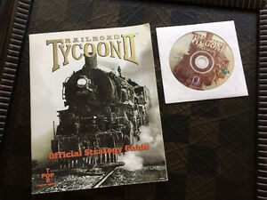 Railroad Tycoon 2 - Platinum Edition, with Strategy Guide - NEW