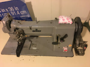 Adler Walking Foot Sewing Machine