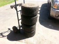 Lawn Mower Tires and Rims