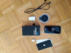 SAMSUNG GALAXY S7 + box and accessories for sale!