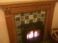 Fireplace surround/mantle piece