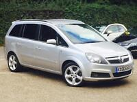 2006 Vauxhall Zafira 2.0i 16v Turbo ( 200ps ) SRi Silver 7 Seater only 57k Miles
