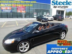 2007 Pontiac G6 GT Convertable leather heated seats low kms!