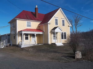 Restored farm house with separate rental house, New Ross