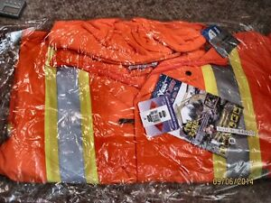 REDUCED WINTER SAFETY PPE BRAND NEW BLAZE ORANGE MUST SELL