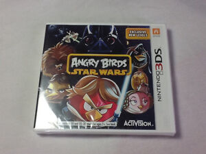Star Wars angry birds sealed 3 ds game