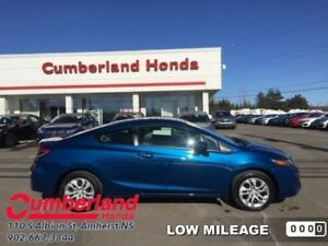 2015 Honda Civic Coupe LX  - Bluetooth -  Cruise Control