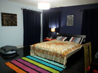 Immediately-Spacious MASTER BEDROOM- ATTACHED FULL Washroom