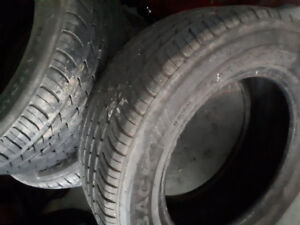 4 used diamondback tires